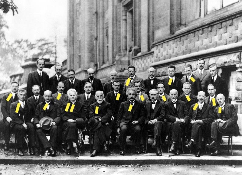 Solvay, 1927, congrès de physique, Nobel