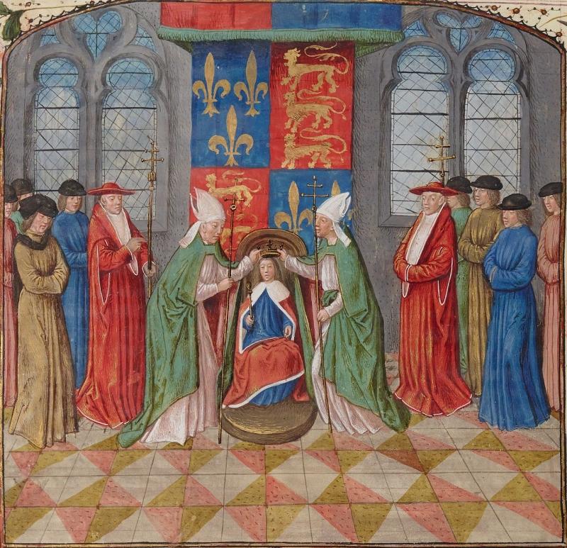 couronnement d'Henri 6