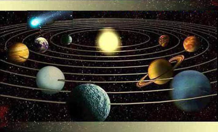 Atome, planète, quantique