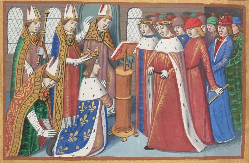 Sacre du roi Charles 7