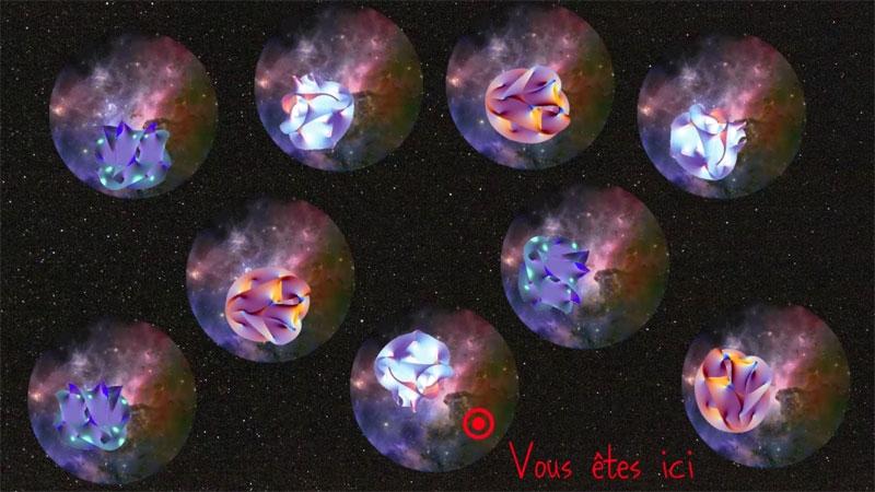 Univers, théorie des cordes, mécanique quantique