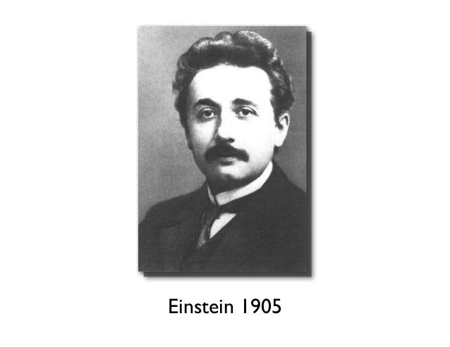 Einstein, 1905
