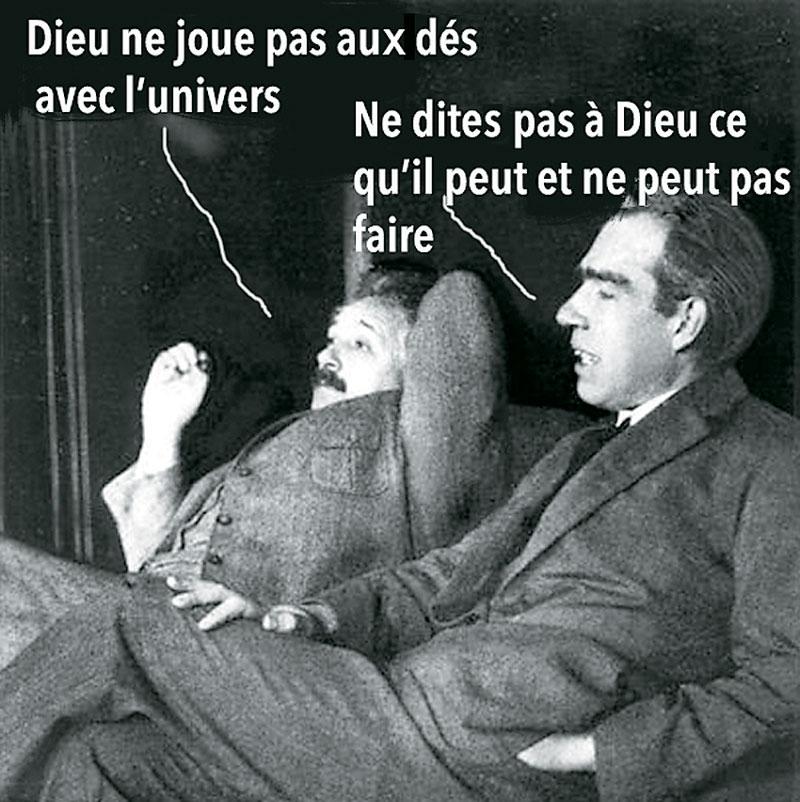 Einstein, Bohr, hasard